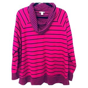 Westbound Woman Cowl Neck Long Sleeve Top